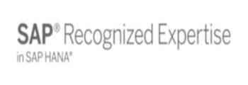 SAP Recognized Expertise Zertifizierung in der Kategorie SAP HANA